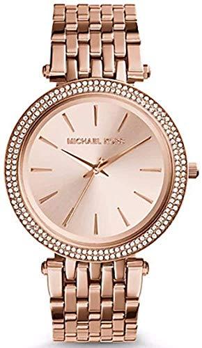 Michael Kors Damen Analog Automatik Uhr mit Edelstahl Armband MK3192