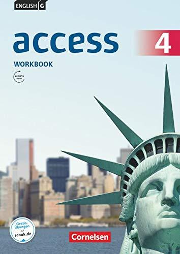 English G Access - Allgemeine Ausgabe / Band 4: 8. Schuljahr - Workbook mit Audios online (Access: Allgemeine Ausgabe 2014)