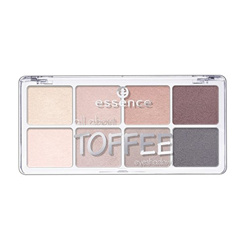 essence - Lidschatten Palette - all about toffee eyeshadow - 06 toffee
