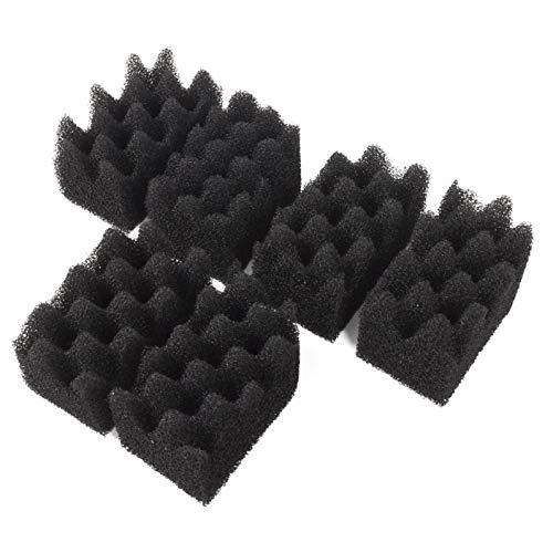LTWHOME Bio-Schwamm des Filters Passend für Fluval 304/305/306/404/405/406(6 Stück)