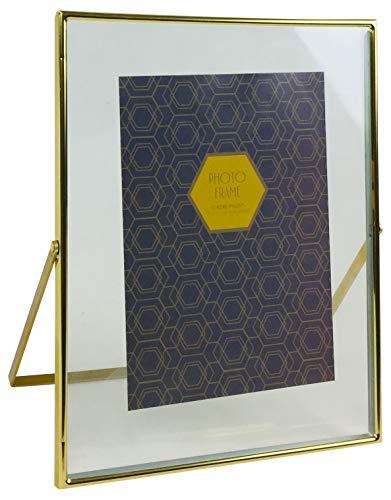 Goud Metaal fotolijst 5x7 inch