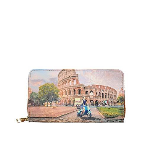 YNOT Wallet Zip Around Rome Vita