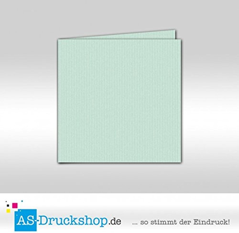 Faltkarte Doppelkarte - Mint 50 Stück Quadratisch 155 x 155 mm B0794XRDCS   | Großer Verkauf