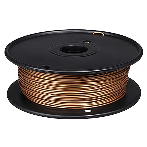 3D-Druckerfilament 1,75mm PLA-Metallmaterial 0.5kg Spule 60% PLA + 40% Metallpulver-Rotes Kupfer