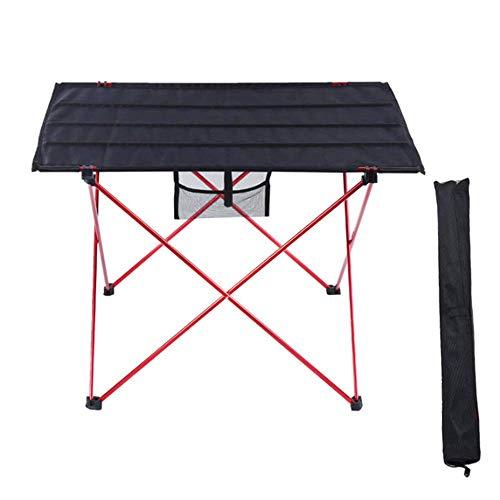 WYYH Campingtisch Klappbar Leicht, Ultraleichte Aluminiumlegierung Camping Klapptisch Multifunktional Wasserdicht Klapptisch Tisch Klappbar Verwendet Für Picknick Camping Strand Barbecue