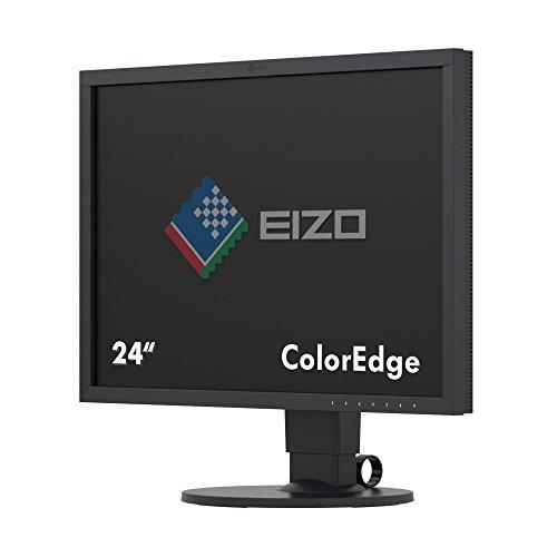 "Eizo ColorEdge CS2420 - Monitor Profesional para Fotografía 24"" (Panel IPS, Resolución 1920 X 1200 Angulo visión 178°, 350 CD, 15 ms, LED, DVI-D, HDMI, DisplayPort), Negro"