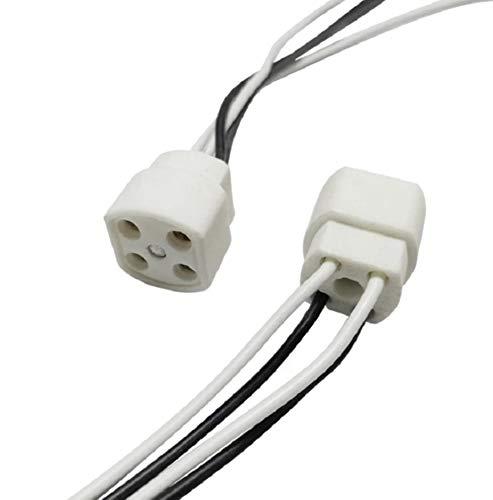 Portalámparas G10q para Fluorescente Circular de 22, 32 y 40 W, Cables...