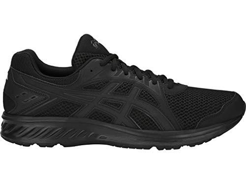 ASICS Men's Jolt 2 Running Shoes, 10M, Black/Dark Grey