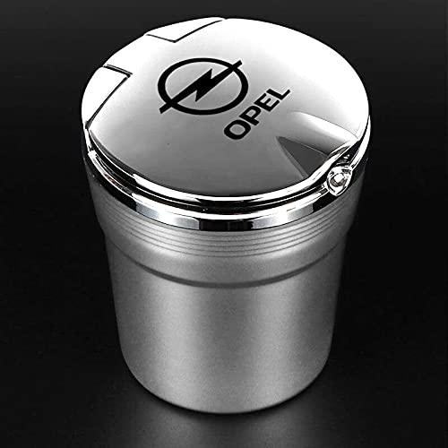 Aschenbecher Auto Aschenbecher Mit Led Light Zigarettenrauch Reiseentferner Für Opel Astra H Insignia Mokka Zafira Corsa Zubehör