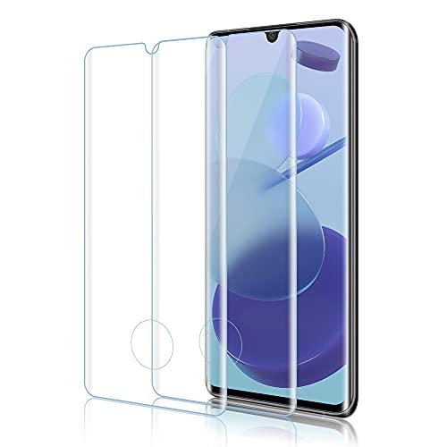Panzerglas Schutzfolie für Xiaomi Mi Note 10/Mi Note 10 Pro/Mi CC9 Pro, [2er Pack] Panzerglasfolie Kompatibel mit Mi Note 10, 9H Härte, Anti-Scratch, Fall Freundlich Displayschutzfolie