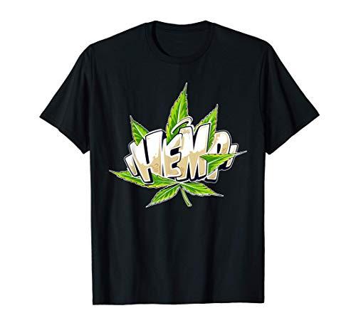 Hanf Graffiti Mit Cannabis Blatt / Weed...