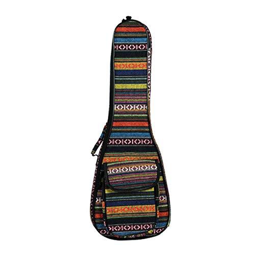Guangcailun 21 Zoll / 23 Zoll Ukulele Gitarre Gitarre Organisator-Beutel-Organisator-Umhängetasche Anfänger Kids Cotton Zipper-Speicher-Fall