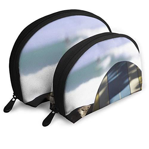 XCNGG Bolsa de almacenamiento Tabla de surf Miércoles Surf Portátil Viaje Maquillaje Bolso Organizador de artículos de tocador impermeable Bolsas de almacenamiento