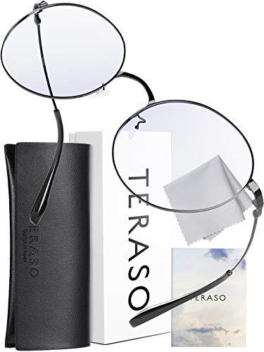 TERASO ブルーライトカットメガネ【眼科検査技師推薦】超軽量 JIS規格 43% UV99%