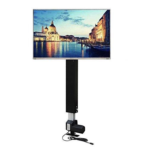 WUPYI2018 - Supporto per TV, elettrico, regolabile in altezza, 700 mm, per schermi LCD al plasma da 26'-57'