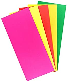 """EnDoc #10 Colored Envelopes – Assorted Pack of Colorful 4 1/8"""" x 9 1/2"""" Business Envelopes in Green,Lemon,Fuchsia Pink,Che..."""