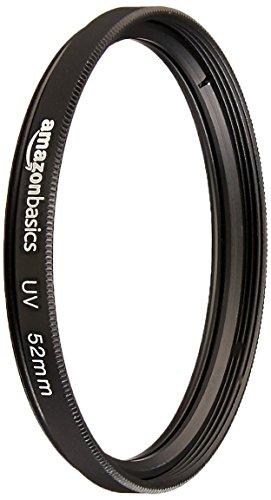 Amazon Basics UV Protection Camera Lens Filter - 52mm