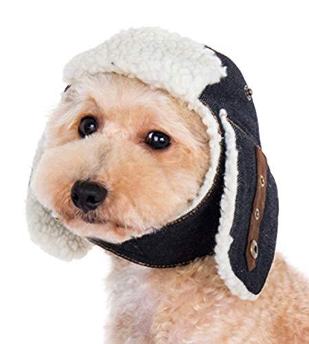 DOGO DESIGN Dogge Trapper Mütze für Katze Hund Welpen, M