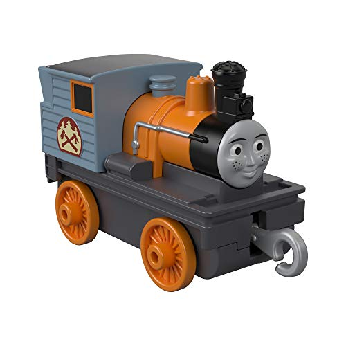 Thomas & Friends Thomas and Friends GDJ44 Trackmaster Push Along Bash - Motor de Tren de Metal, Multicolor