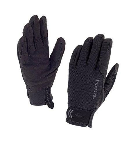 SealSkinz Herren Waterproof Dragon Eye Gloves, Black/Charcoal, M