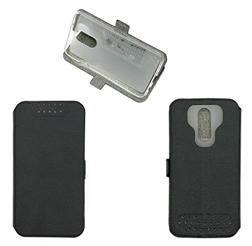 QiongniAN Custodia per Alcatel 1X 5059Y Custodia Case Cover Black