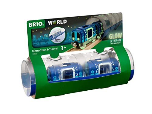 BRIO Bahn 33970 - Tunnel Box U-Bahn Glow in the Dark