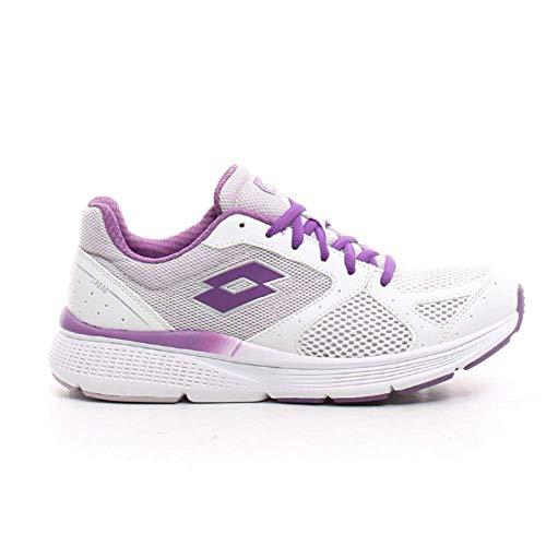 LOTTO Speedride 600 IX W. White/lile 215679. Zapatillas Deportivas Mujer. Talla 40