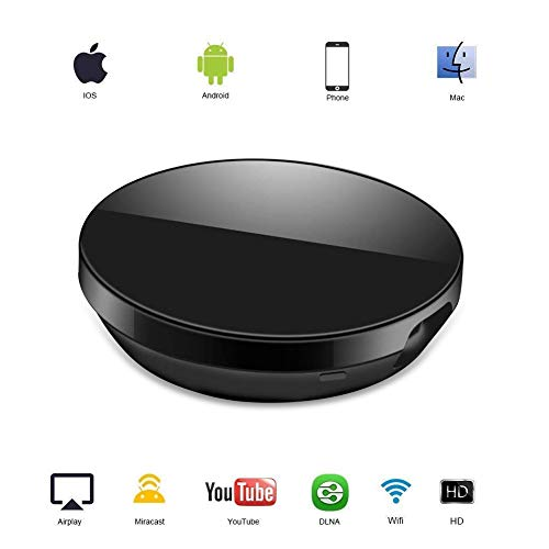 Dongle Display WIFI, ATETION WiFi Senza Fili Ricevitore HDMI TV 1080P Mini Display Airplay Miracast DLNA per IOS/Android/Mac