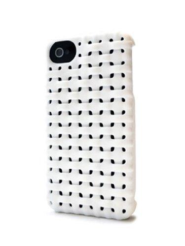 FRESHFIBER 3D NYLON CASE IPHONE 4 WHITE