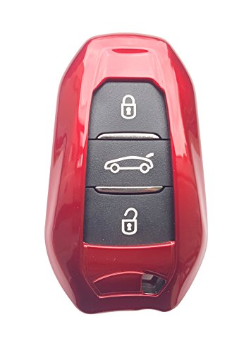 CK+ - Carcasa para llave de coche (ABS, sin llave, para C1, C2, C3, C4, Grand Picasso Cactus