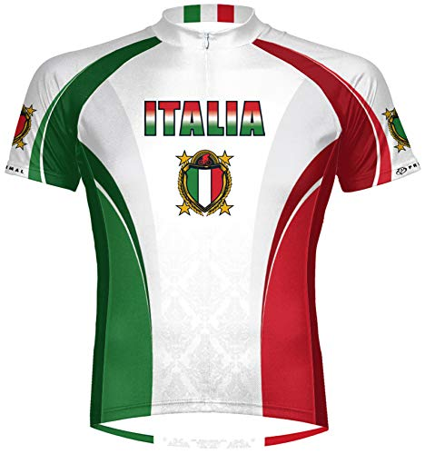 Primal Wear The Italy Italia Cycling Jersey Men's Medium Short Sleeve