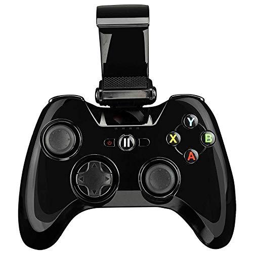 LEFJDNGB Commande précise de bouton sensible à la pression de bouton télescopique de contrôleur d'ordinateur, Gamepad de Bluetooth de batterie au lithium de rendement élevé, compatible avec IOS Iphone