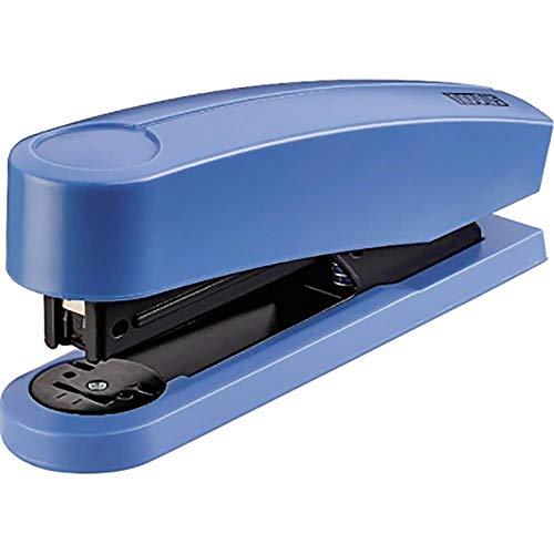 Novus B 2 Color ID Heftgerät (25 Blatt, Metall/Kunststoff, inkl. 200 Tackerklammern) easy blau