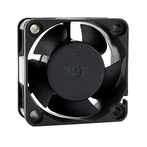32F Ventilador 40 mm 40 x 40 x 20 5500 rpm 12 V 0,16 A DC Air Fan 4 cm 40 mm 3 hilos 3 pines con sensor tacómetro Refrigeración 40 x 40 x 20