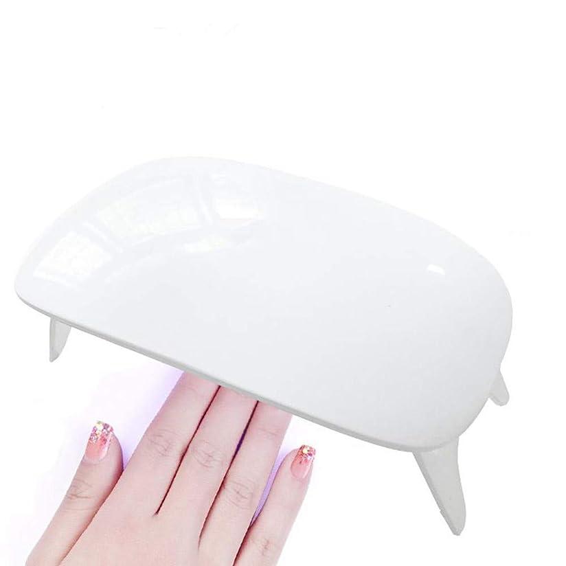 奨学金飢饉機動UVライト LEDネイルドライヤー ジェルネイルLEDライト 硬化ライト タイマー設定可能 折りたたみ式手足とも使える 人感センサー式 UV と LEDダブルライト ジェルネイル用 (白)