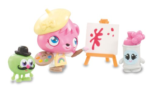 Moshi Monsters Poppet Goes Arty