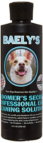 Baely's Paw Shield Dog Ear Cleaner Wash Solution | Alcohol-Free & Gentle for Pain-Free Cleaning | Good Ear Hygiene Prevents Yeast, Fungus & Odor – Prevent Ear Infections, Wax & Itching…