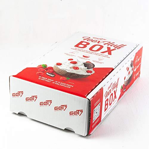 Got7 FooxFluff Box - Eiklar Erythrit Fiber Sirup Rezeptbroschüre Flavor Drop (Coconut - Kokosnuss)