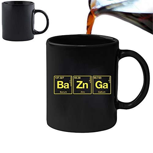 Acen Merchandise The Big Bang Theory 'Bazinga'' - Fun Becher Tasse mit Farbwechsel-Effekt –Perfekt Valentines/Ostern/Sommer/Weihnachten/Geburtstag/Jahrestag Geschenk