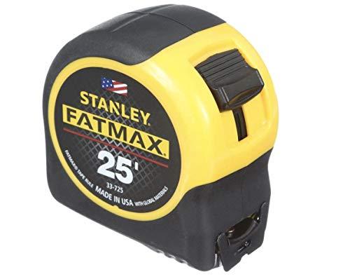 "Stanley Hand Tools 33-725 1-1/4"" X 25' FatMax Tape Measure"