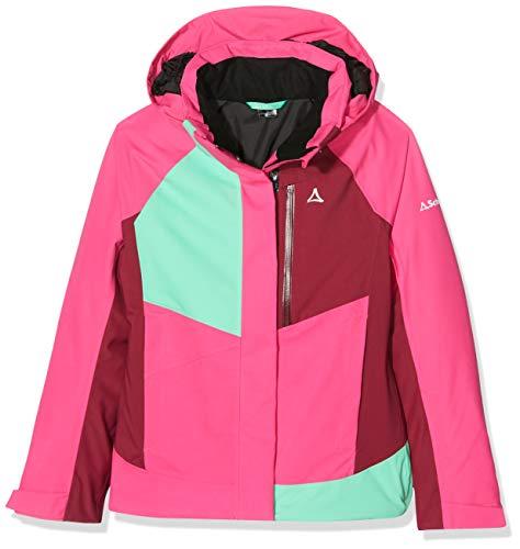 Schöffel Mädchen Jacket Le Havre3 Jacken, pink yarrow, 128 (S)