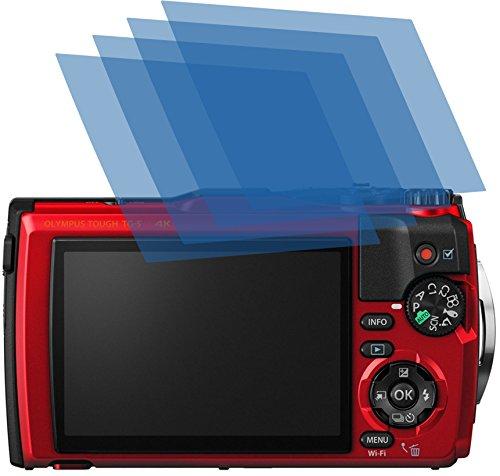 4ProTec I 4X ANTIREFLEX matt Schutzfolie für Olympus Tough TG-5 Premium Bildschirmschutzfolie Displayschutzfolie Schutzhülle Bildschirmschutz Bildschirmfolie Folie