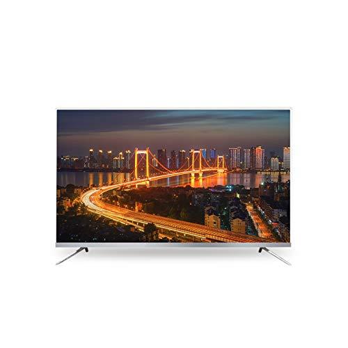 YINxy 50 Pulgadas / 55 Pulgadas Smart 4K Ultra HD LED TV, TV Ultradelgada Sin Bordes, TV A Prueba Explosiones