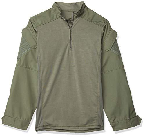 Tru-Spec Uomo Urbano Force Combat Camicia, Uomo, Od Green
