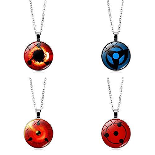 Akatsuki Collar rojo Naruto de collar, Itachi, Kunai, Anime Cosas Lanyard Set de regalo Cosplay Vestido Accesorios