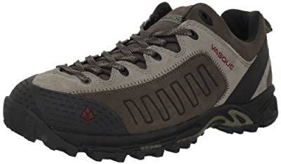 Vasque Men's Juxt Multisport Shoe,Aluminum/Chili Pepper,7 M US