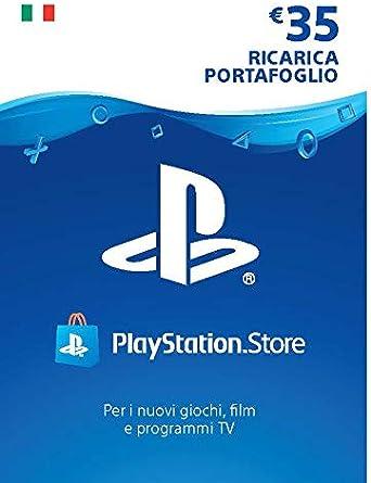 PlayStation Network PSN Card 35€   Codice download per PSN - Account italiano