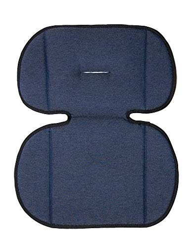 Axkid | Cojín Adaptador para Silla de Coche Grupo 1 y 2 para Bebé | Totalmente Adaptable | Diseño Innovador | Fácil Instalación | Cojín Silla | Cojín para Silla | Silla Coche | Color Denim