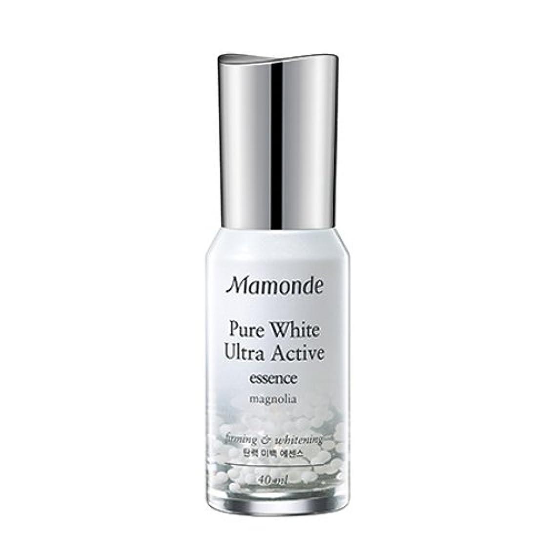 夏教授静的Mamonde Pure White Ultra Active Essence 40ml/マモンド ピュアホワイト ウルトラ アクティブ エッセンス 40ml