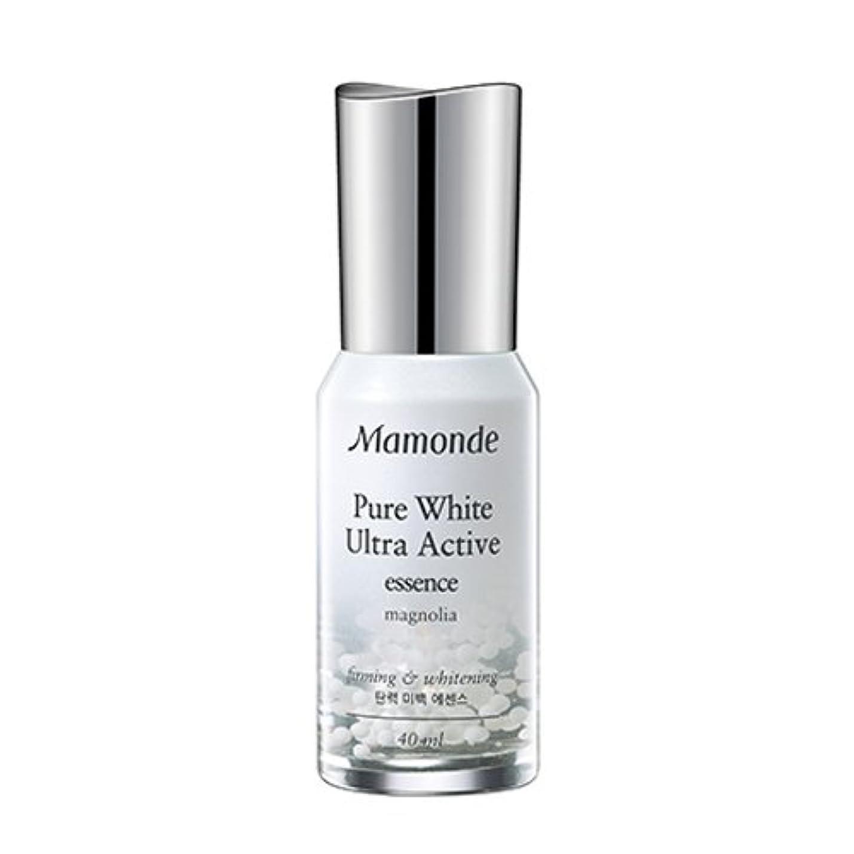 枯渇良心古いMamonde Pure White Ultra Active Essence 40ml/マモンド ピュアホワイト ウルトラ アクティブ エッセンス 40ml